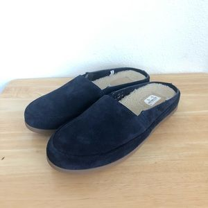 Mulo Navy Blue Slip On Cushioned Footbed Slippers